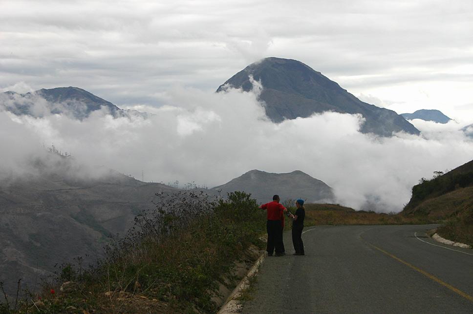 Near Alausi, Chimborazo, Ecuador, South America